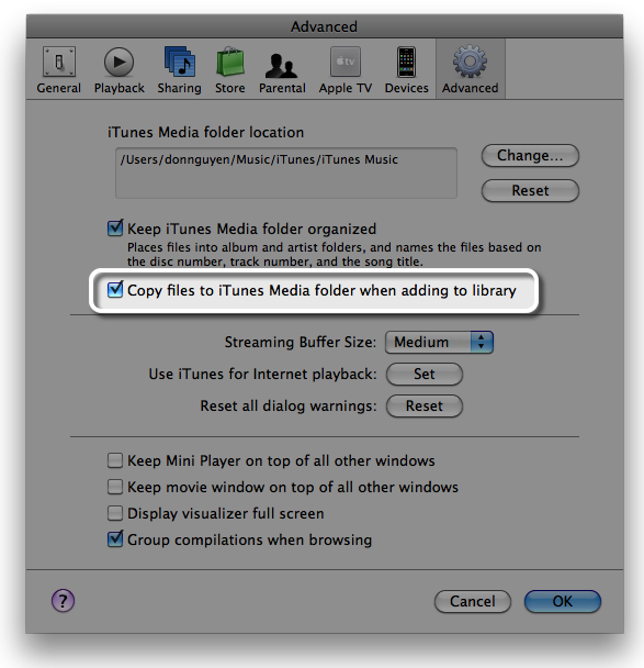 mac how to move not copy files