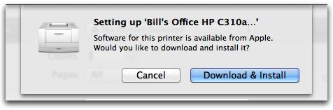 AirPrint – MacOS Tips