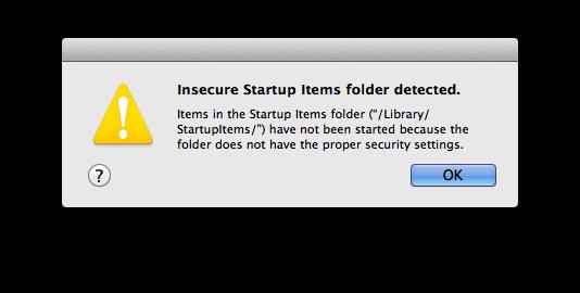 insecure folder
