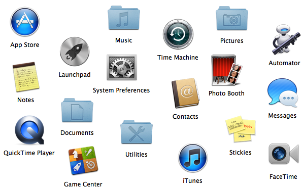 how to delete icons from mac desktop