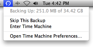 apple support time machine