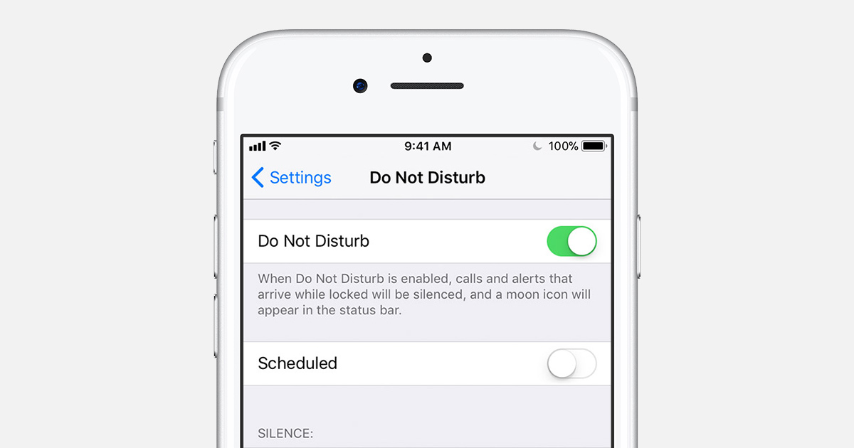 do not disturb iphone alarm use do not disturb on your iphone and ipod touch 16864