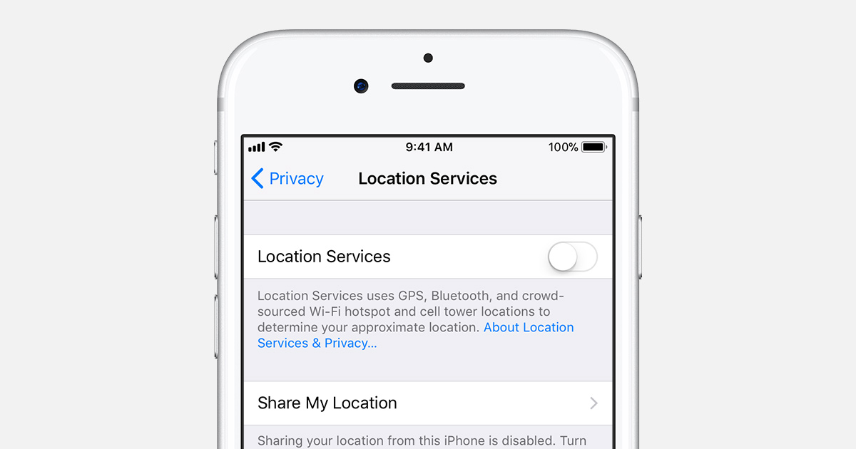 how to disable location on iphone turn location services and gps on or on your iphone 4459
