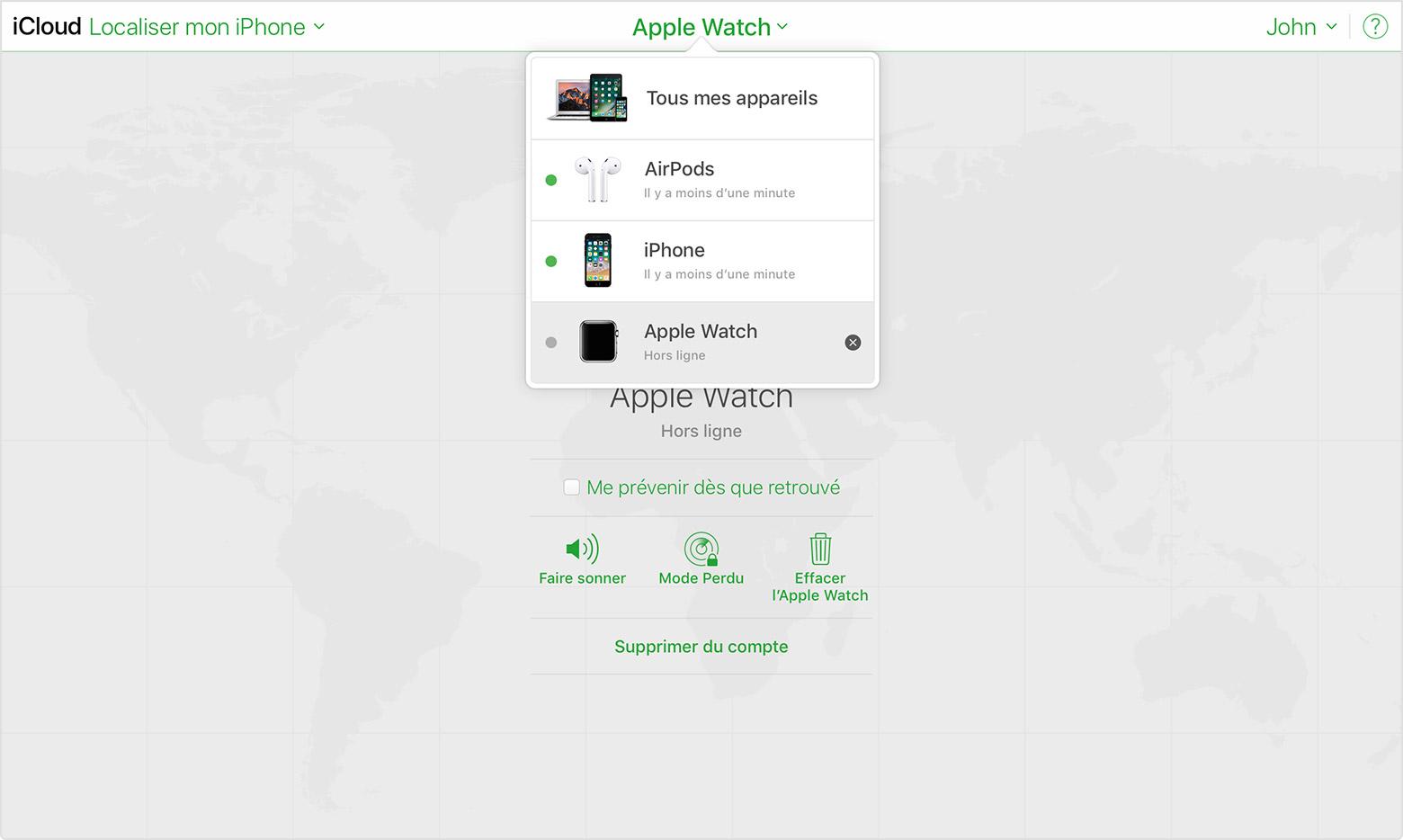 Icloud Localiser Iphone Deconnecte